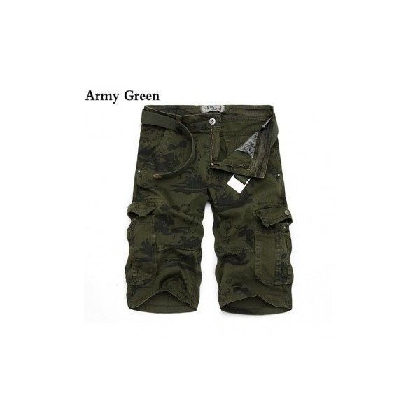 Mens Camo Cargo Loose Shorts Large Multi Pockets Cotton Short Pants ($29) ❤ liked on Polyvore featuring men's fashion, men's clothing, men's shorts, army green, men pants & shorts, mens cotton shorts, mens summer shorts, mens clothing, mens camouflage shorts and mens camo shorts