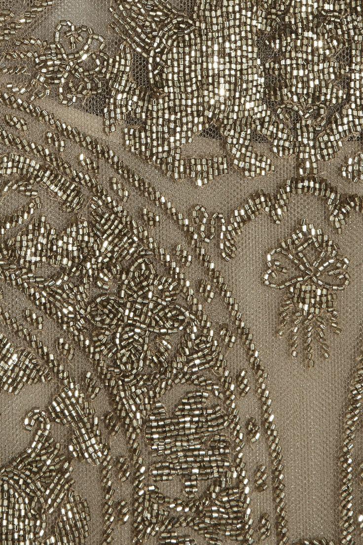 Valentino|Combi-short en tulle ornée de perles