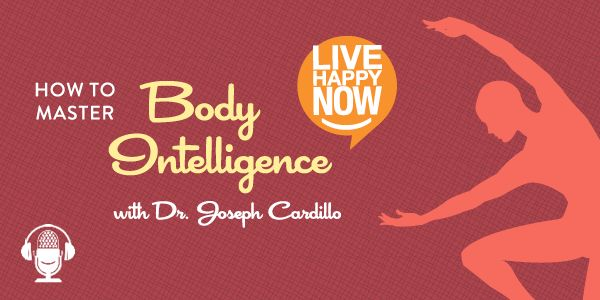 Joseph Cardillo, Ph.D. joins Live Happy science editor Paula Felps this week to look at body intelligence and harnessing your body's energies for your best life. Joseph is the best-selling author of several books in the fields of health, mind-body-spirit, and psychology and appears as the energy management expert in Michael Strahan's new book Wake Up Happy.