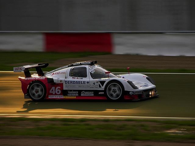 [Zolder 24 Hours] Belgium Racing Ultima GTR @ Chicane by GT2-R, via Flickr
