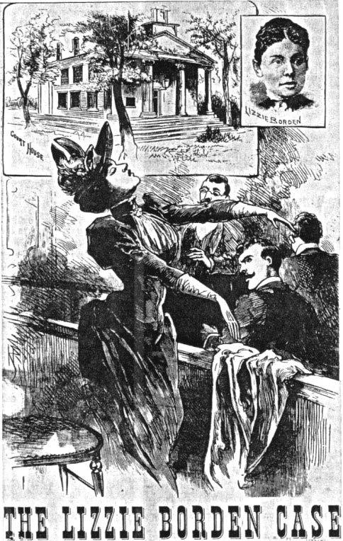 「Lizzie Borden, 32,」の画像検索結果