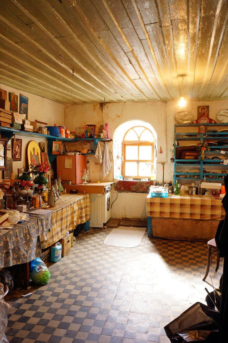 Konstamonitou Monastery kitchen - Mount Athos