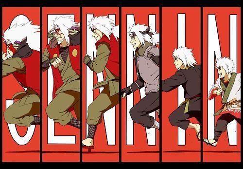 The evolution of Jiraiya. #naruto