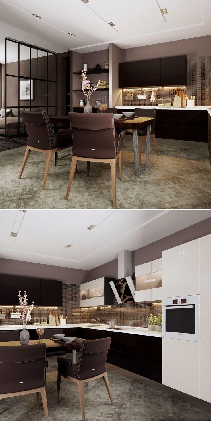 гостиная и кухня - Галерея 3ddd.ru
