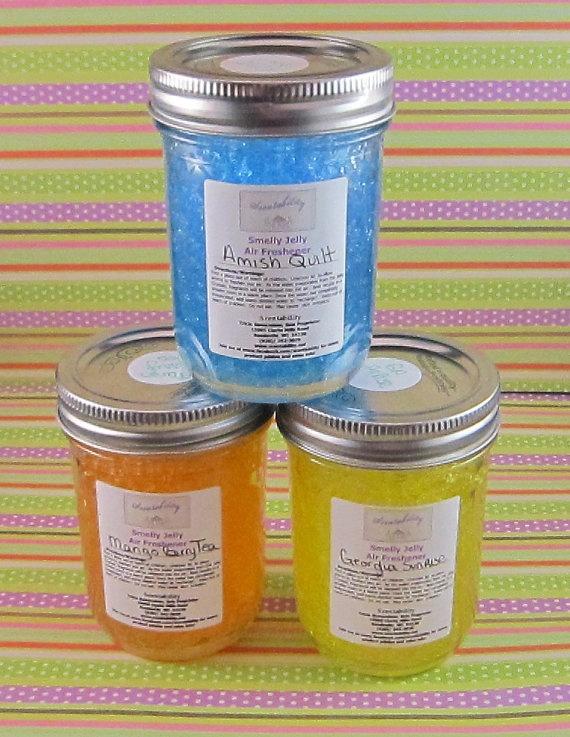 reuseable air freshener Jelly jars, Air freshener, Jar