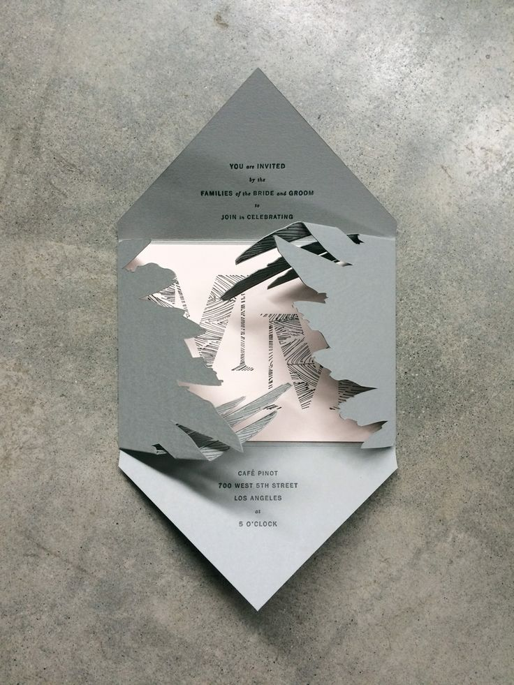 Swan Lake Invitation / Paper & Type