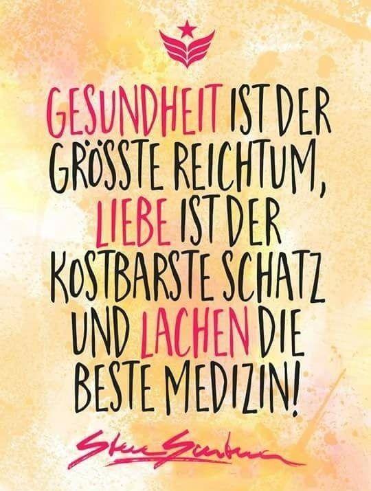 Gesundheit, Liebe und Lachen
