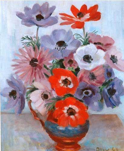 margaret olley: anemones