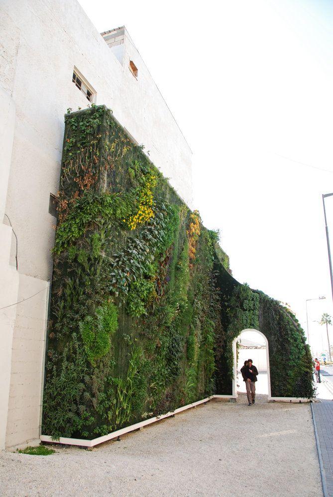 Muharraq Bahrain Green Gate Vertical Garden Patrick