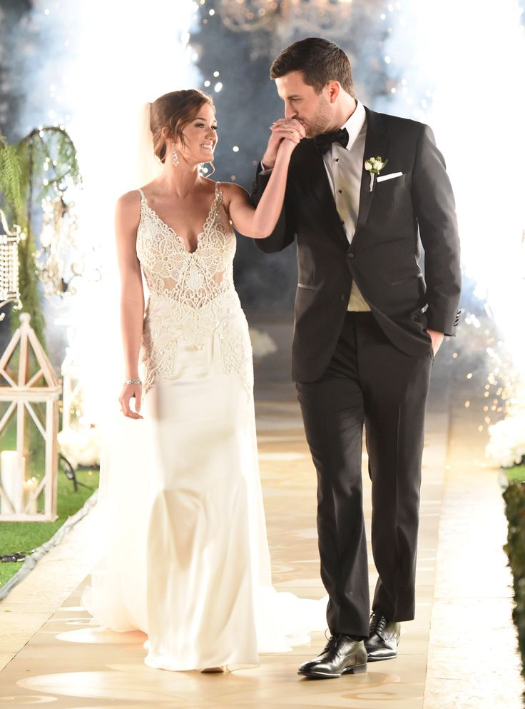 Looking Back on Bachelor Nation's Most Spectacular Weddings - Jade Roper and Tanner Tolbert from InStyle.com