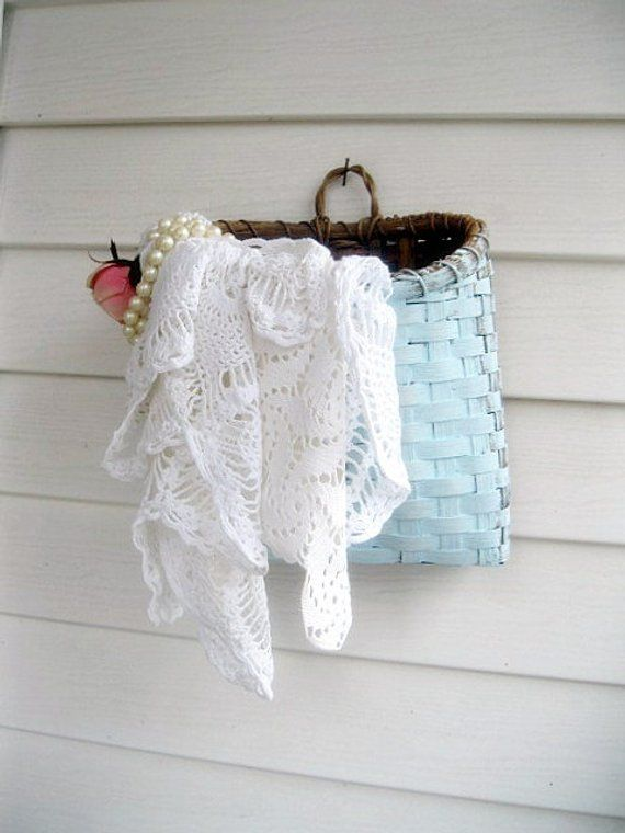 Bulk Lot Crochet Doilies Six Pieces Crochet Shabby French Sewing