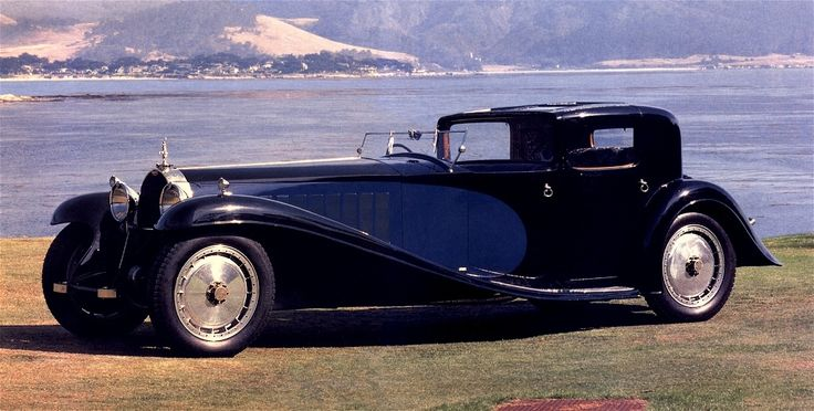 1927 Bugatti Royale.  One of the rarest cars made (the date is a clue).
