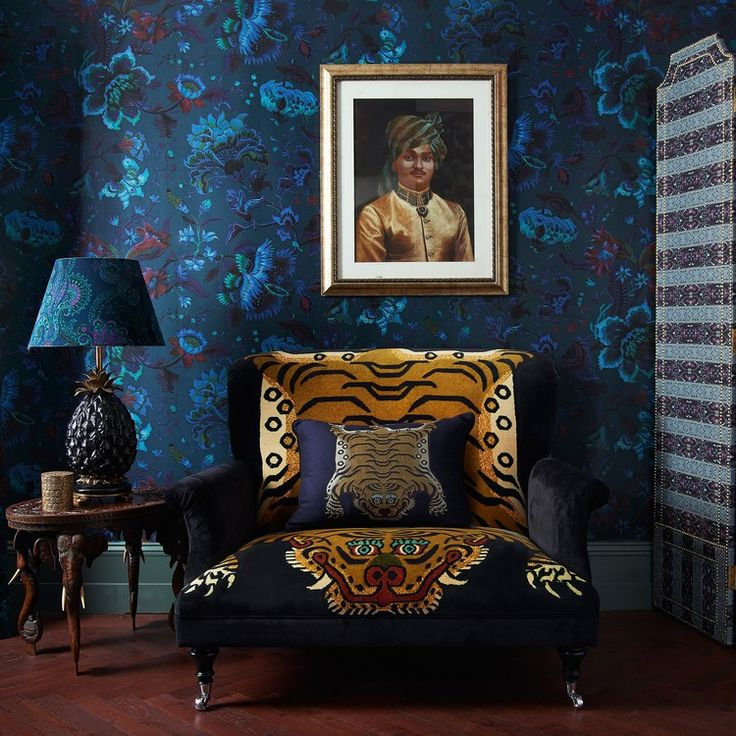 House Of Hackney's Collaboration With Cult Wallpaper Brand