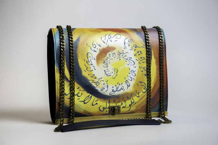 Large Crossbody handbag - Solar Storm - La Rose De Sim