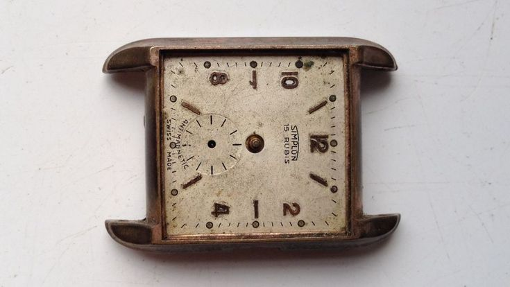 ON AUCTION ON WEDNESDAY 21 FEBRUARY FROM 8pm.....MENS VINTAGE STARLON SWISS MADE MANUAL WIND 15 JEWELS WATCH FOR PARTS SPARES