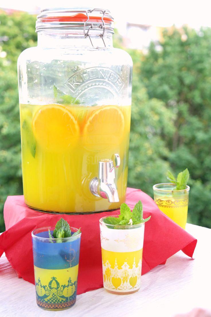 Zitronen-Orangen Limonade
