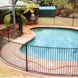 Our stunning glass pool fencing system offers strength, security as well as a modern touch of style to your pool area. Enjoy the visual surrounds with clear, clean cut lines. Combine glass fencing with Superior Fences range of aluminium, steel, Colorbond or timber fences for a complete fencing solution. Semi frameless glass pool fencing uses 10mm toughened glass for panels, with an 8mm glass gate combination, and is custom made to suit your pool area and meet regulation standards. Square or…