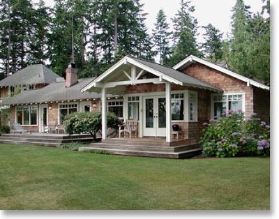 26 best cottage ranch images on pinterest dream houses for Exterior updates for ranch style homes