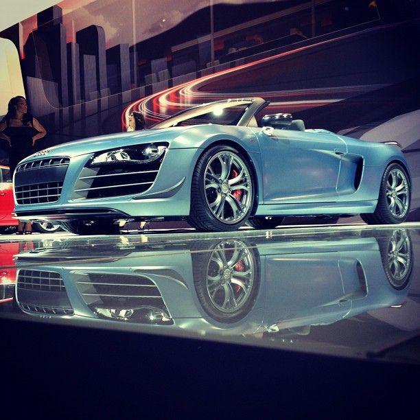 Audi R8 GT Spyder -- Instagram Photos, via Flickr.