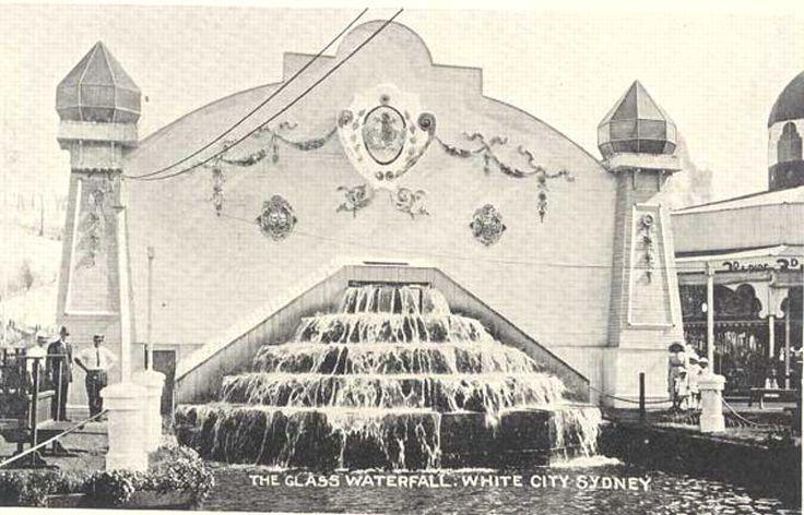 Glass Waterfall White City