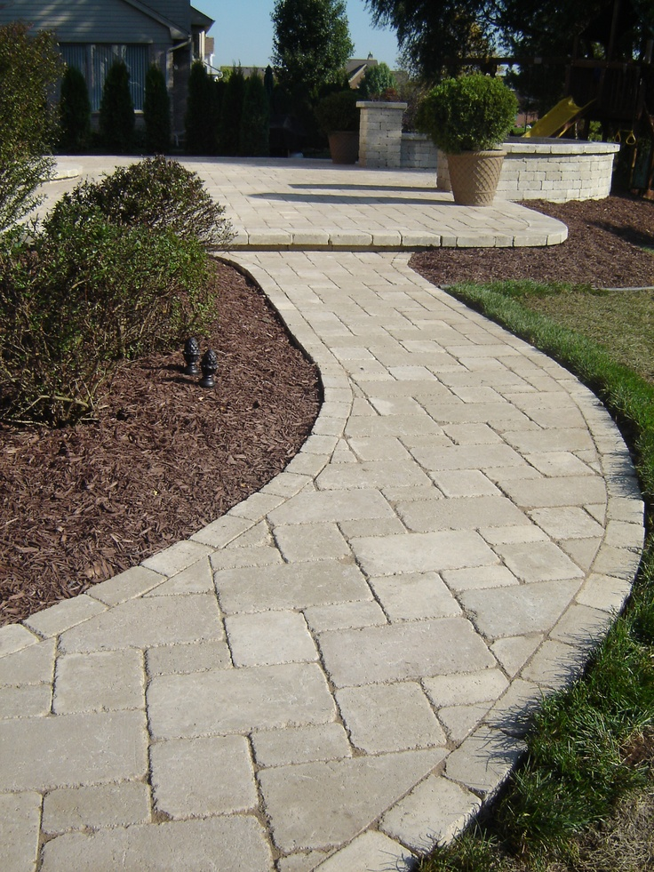 Brick Paver Patio With Fire Pit Cost: Best 25+ Unilock Pavers Ideas On Pinterest