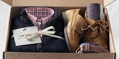 Gift your guy a subscription to the Trunk Club box.