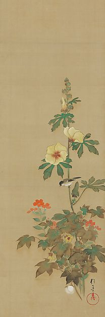September - Sakai Hōitsu (1761-1828) - Birds and Flowers of the Twelve Months