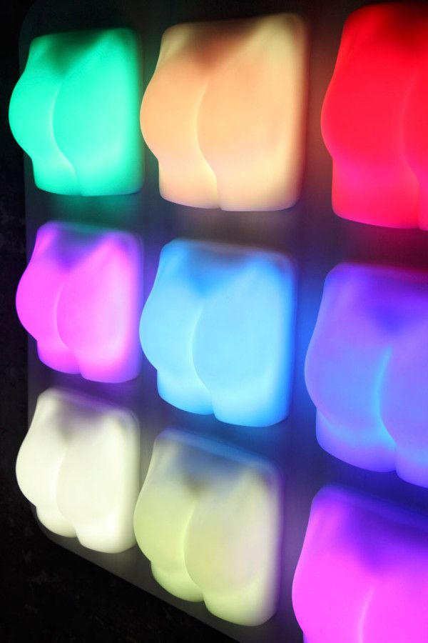 "Slap It is a ""cheeky"" way to bring a bit of fun into your daily life, designed by London-based designer Joseph BegleyInteractive Lights, Butt Lamps, Design Milk, Trav'Lin Lights, Joseph Begley, Lights Design, Joseph Gordon-Levitt, Daily Life, Design Joseph"