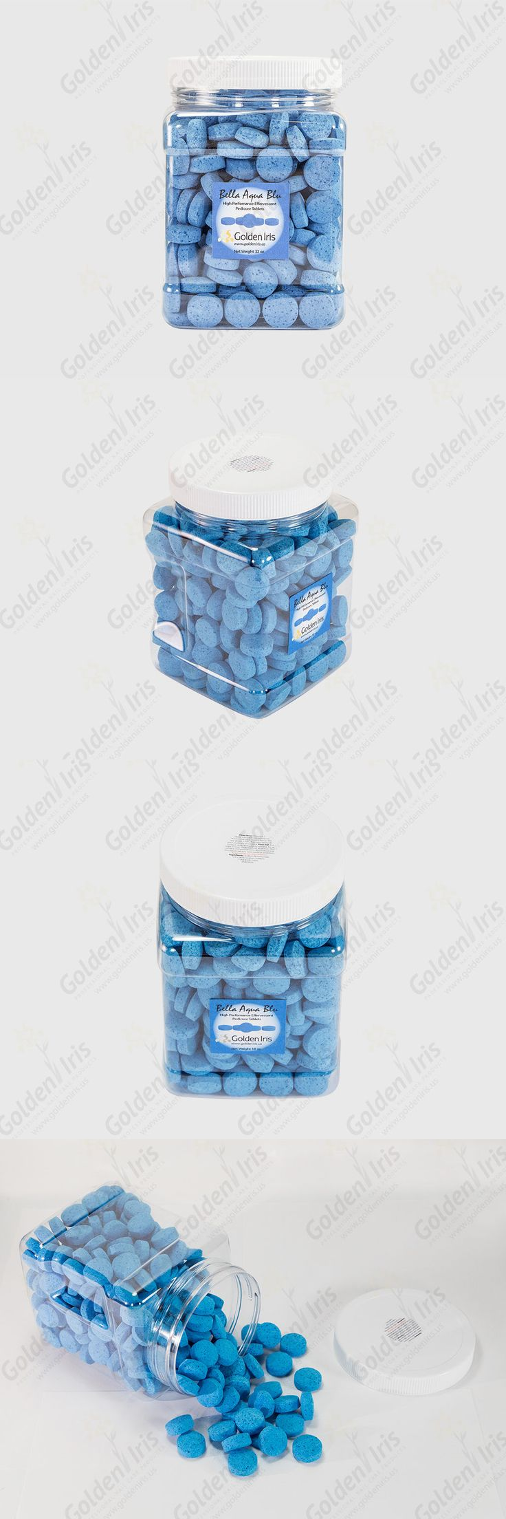 Spas Baths and Supplies: Pedicure Spa Treatment Tablets Aqua Bella Blu 32Oz Jar Germs Viruses Protection -> BUY IT NOW ONLY: $35.49 on eBay!