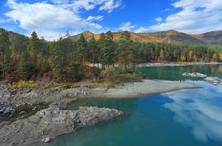 Altai Mountains, Mayminsky District