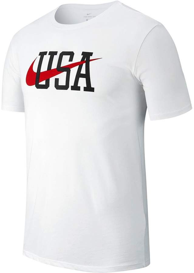 Nike Men's Dri-FIT Americana Tee | Nike clothes mens, Mens ...
