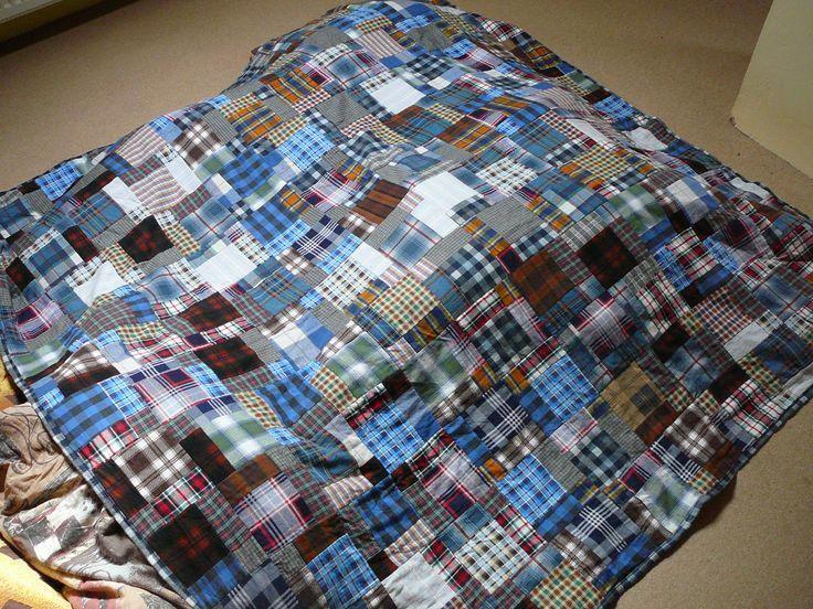 Flannel quilt (2014)