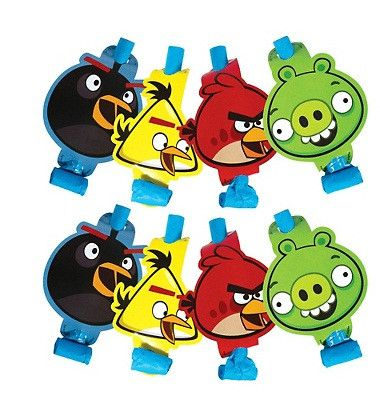 Angry Birds Blowouts | 8ct