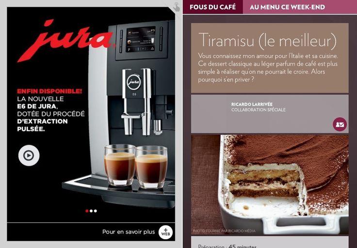 Au menu cette semaine: tiramisu (le meilleur) - La Presse+