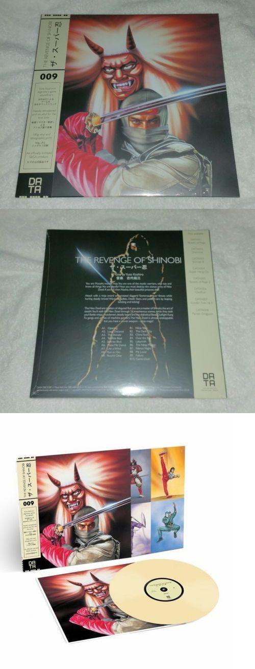 Music Albums: The Revenge Of Shinobi Sega Vinyl Record Lp Bone New Sealed -> BUY IT NOW ONLY: $34.99 on eBay!