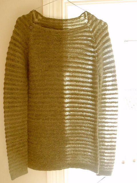 Ravelry: Starling Bluse pattern by Helga Isager. Like sweater, unsure about the buttons