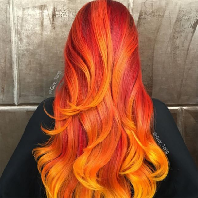 Phoenix Hair Is The Craziest Hair Trend You Ll See This