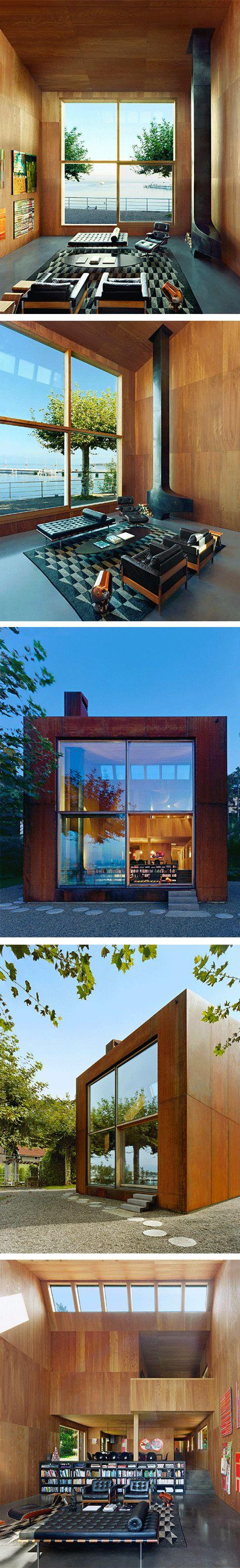 Casa 26 - Hétérofocus - Thonon-les-bains - France  #ChemineeFocus #Focus #cheminee #design #architecture