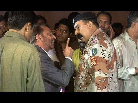 Exclusive Video of Rangers Arresting Farooq Sattar