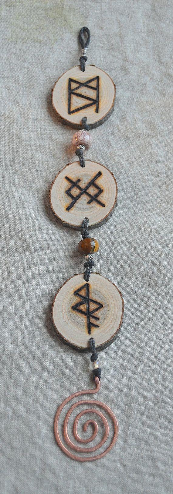 Viking Valentine  Custom Bindrunes for you and by RedTrilliumFarm