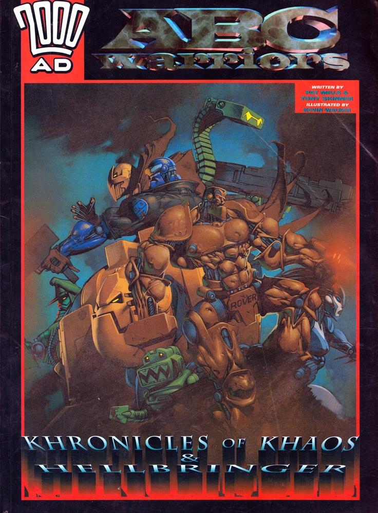 omercifulheaves:    ABC Warriors: Khronicles of Khaos & Hellbringer  Art by Kev Walker