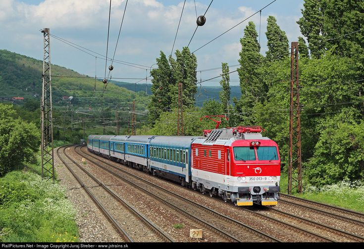 RailPictures.Net Photo: 350.013 ZSSK 350 SKODA at Bratislava, Slovakia by Juraj Streber - www.jstrains.sk