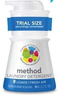 FREE Method Sample of Laundry Detergent!