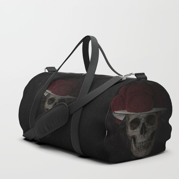 We upped the Duffle Bag game. Your new favorite gym and travel bags feature crisp printed designs on durable poly poplin canvas. Premium details include soft polyester lining with interior zip pocket, an adjustable shoulder strap (with foam pad), carrying handles, double zipper pull tabs for easy open/close, and brushed nickel metal hardware. Available in three sizes. Spot clean only.