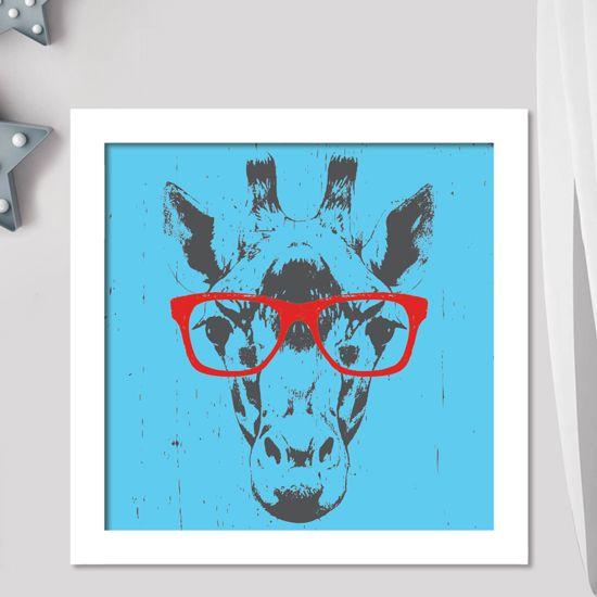 Βάλτε την ποπ κουλτούρα και στυλ στο χώρο σας με το poster της καμηλοπάρδαλης και ξεφύγετε από τα καθιερωμένα. #animalposters #portreitposters #αφίσεςμεζώα #καμηλοπάρδαλημεγυαλιά #ποπκαμηλοπάρδαλη #giraffewithredglasses #popgiraffe