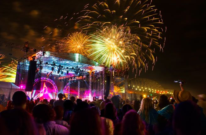 """Fodor's Travel names Nashville among """"America's Best 4th of July Fireworks Displays"""" in 2015"""