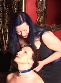 Gabriele Hoff, PsyD, Always interested in psychology and sexuality, Dr Hoff made erotic powerplay, consensual BDSM play the focus of her studies and, later on, the topic of her films. Dr Hoff began interviewing many people- doctors, lawyers, college students, blue collar workers, business executives, housewives, professional dominatrixes and their clients- about their powerplay fantasies and sexual practices. She, to date, has interviewed over 1200 individuals and couples.