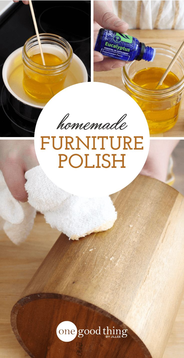 How To Make An All Natural Conditioning Furniture Polish