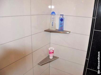 Edelstahl Eckablage für Dusche und Bad befliesbar für Fliesen HK-EA 440L/430R - Vorschau 2