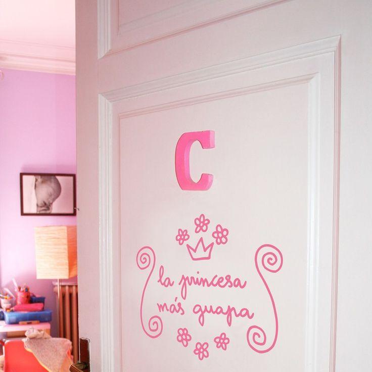Para la princesa de la casa vinilos decorativos para - Vinilos para casas ...